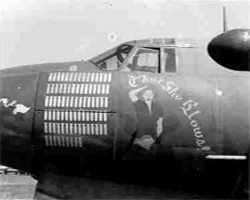 "Martin B-26 Marauder ""There She Blows"""
