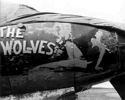 "Martin B-26 Marauder ""The Wolves"""