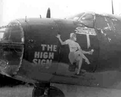"Martin B-26 Marauder ""The High Sign"""
