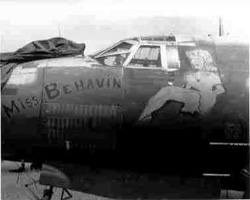 "Martin B-26 Marauder ""Miss Behavin"""