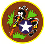 320th Bomb Group, 443rd Bomb Squadron patch insignia