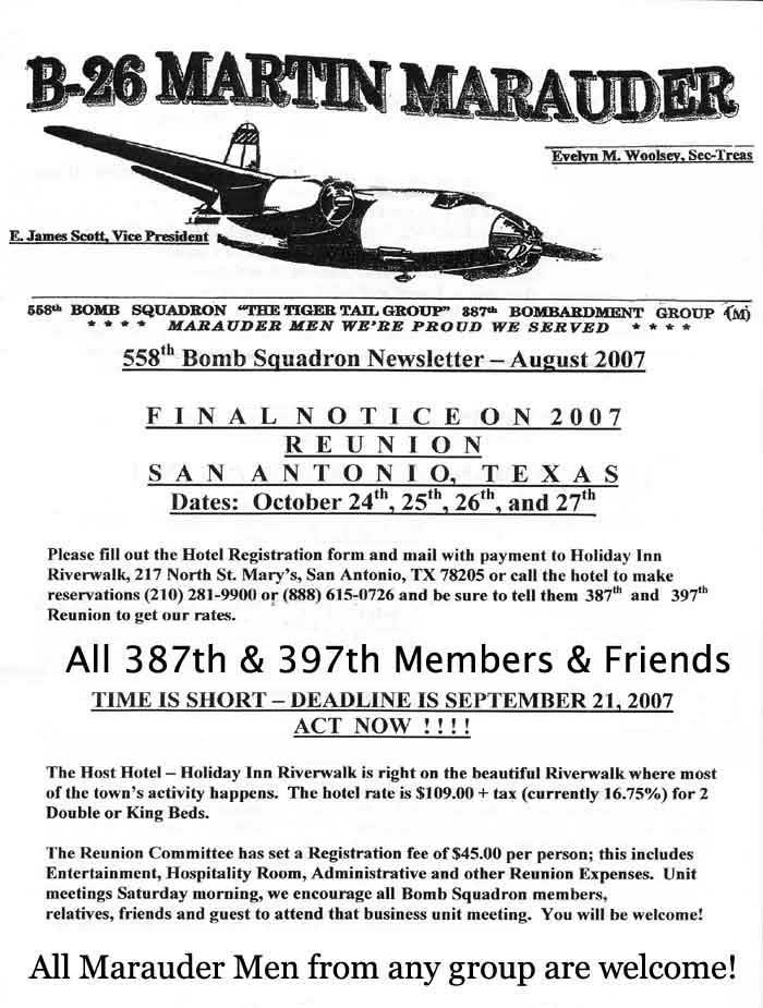 d561a0696cc B26.COM 2007 Guest book - dedicated to Martin B-26 Marauder Men.