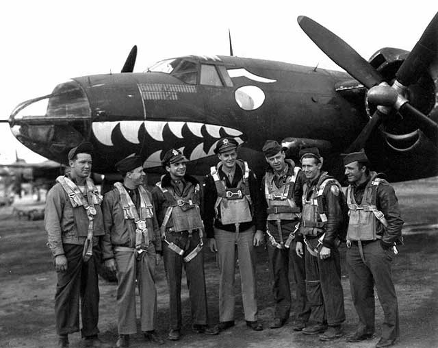 Crew from the 1st Pathfinder Squadron