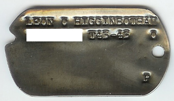 Leon C. Higginbotham's Dog Tags