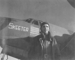 "T/Sgt Earl E. Holtorf, ""Skeeter"" Crew Chief"