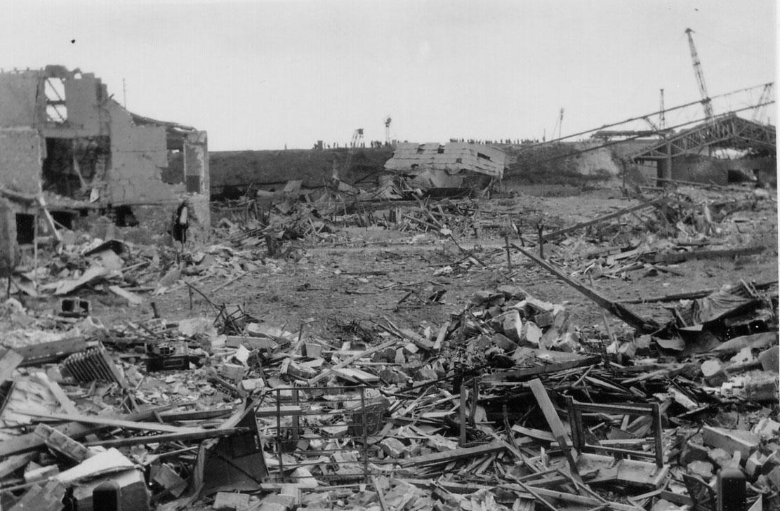 Maisons laffitte railroad bridge bombardements 1944 by claude faix - Le cosy maison laffitte ...